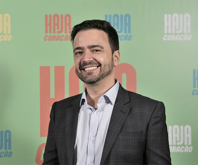 Daniel Ortiz assina o spin-off de Haja Coração com Nilton Braga (Foto: Ellen Soares/Gshow)