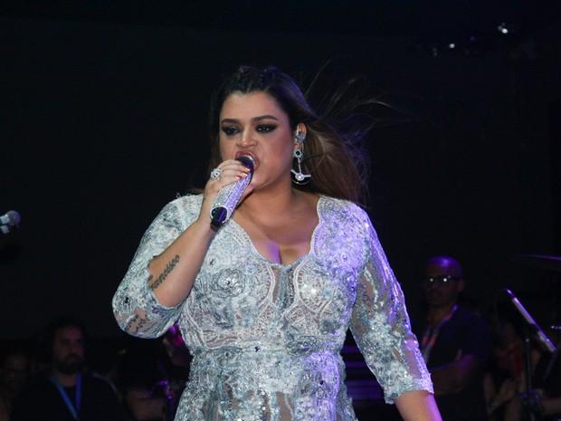 Preta Gil canta em São Paulo (Foto: Amauri Nehn/ Foto Rio News)