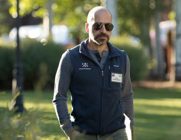 Ex-CEO da expedia, Dara Khosrowshahi tem a missão de tirar a Uber de uma grande crise (Foto: Getty Images/ Drew Angerer)