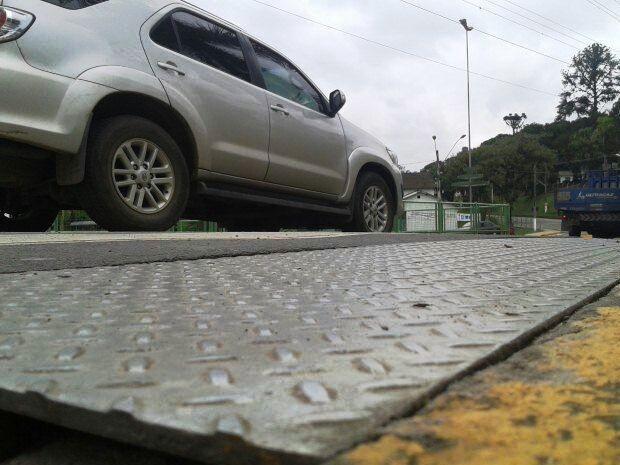 Moradores ficaram assustados com abalo que atingiu Vale do Ribeira (Foto: Rinaldo Rori/TV Tribuna)