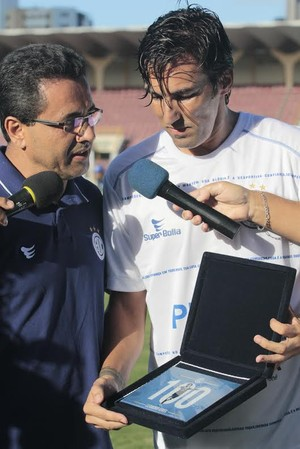 Confianca, Cuiaba, serie c, Leandro Kivel (Foto: Osmar Rios / GloboEsporte.com)