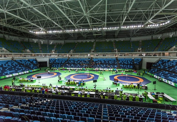 Interior da Arena Carioca 1  (Foto: Getty Images )