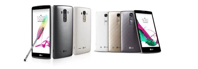 LG lançou novos smarts na linha G4 (Foto: Divulgação)