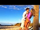 Mayra Cardi aparece sensual em vídeo com marido. Assista