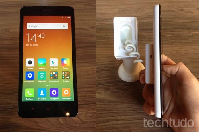RedMi 2 é o primeiro smart da Xiaomi no Brasil  (Foto: Laura Martins/TechTudo)