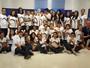Projeto 'Amigos da TV Clube' recebe alunos da Fundação Bradesco