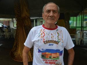 Associação de Brincantes e Simpatizantes do Bloco de Sujos, A Banda, José Figueiredo Souza, Savino, (Foto: Jorge Abreu/G1)
