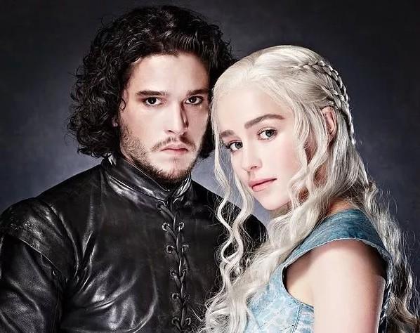 Jon Snow e Daenerys Targaryen (Foto: Divulgação)