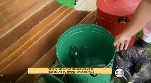 Blitz contra a Dengue invade o É de Casa (Foto: TV Globo)