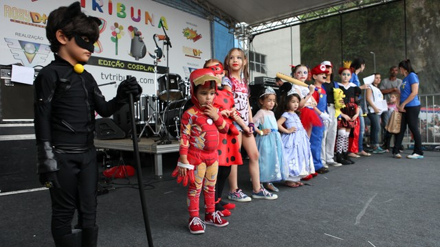 Tribuna Kids - Edição Cosplay (Foto: José Luiz Borges)