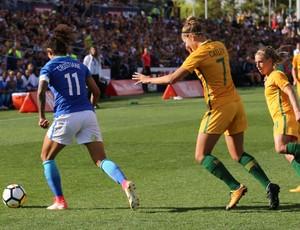 BLOG: Seleção feminina perde amistoso por 2 a 1 para a Austrália