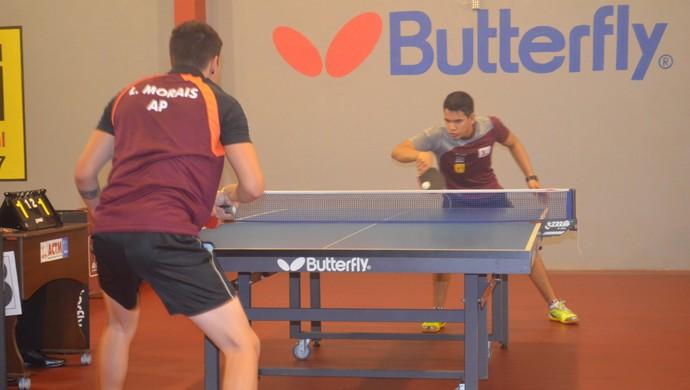 Após férias, FATM realiza a terceira etapa do estadual de tênis mesa (Foto: Rafael Moreira/GE-AP)