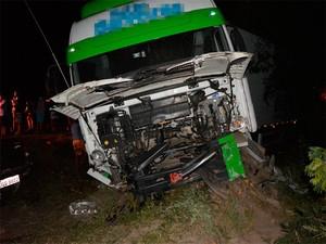Pai de vereador de Jaguarari morre em acidente na BR-407 (Foto: João Carvalho/Portal Jaguarari.com)