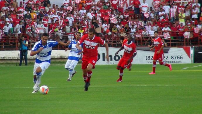 CSA x CRB (Foto: Viviane Leão/GloboEsporte.com)