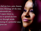Página de Whitney Houston divulga tributo a Bobbi Kristina