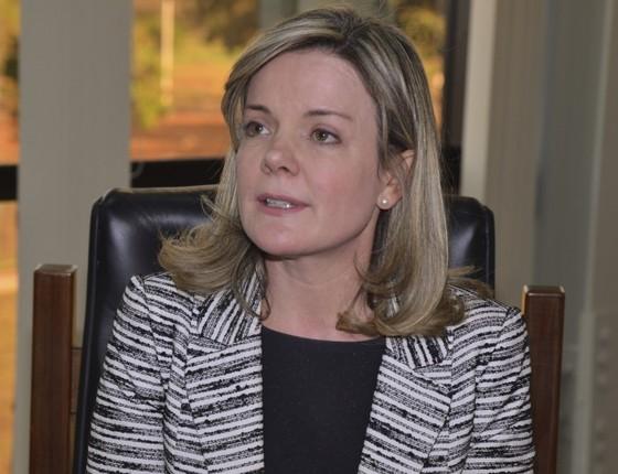 Resultado de imagem para foto Senadora Gleisi Hoffmann