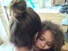 Em meio a rumores de crise, Ronaldo posta foto da filha com Paula Morais