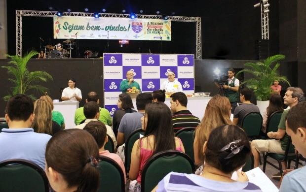 Rede Amazônica cria espaço no festival gastronômico 'Rota dos Chefs' (Foto: Gisa Almeida/Rede Amazônica)
