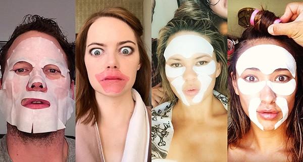 Chris Pratt, Emma Stone, Chrissy Teigen, Shay Mitchell (Foto: Instagram)