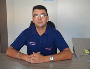 Anderson Rodrigo Bulhosa, candidato à presidência do Vilhena (Foto: Lauane Sena)