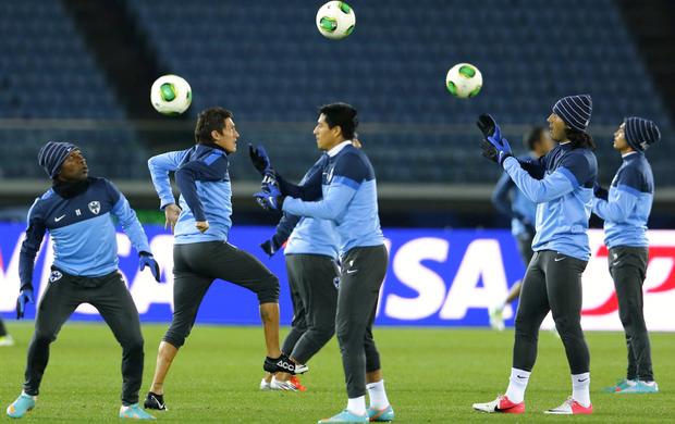 Monterrey treino (Foto: Reuters)