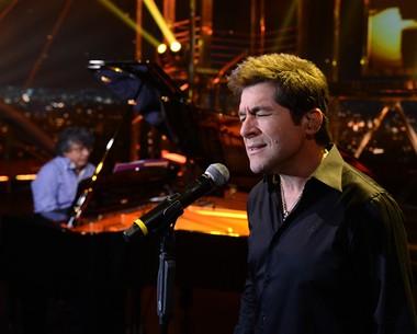 Daniel conta que já errou o nome da cidade em shows (Ricardo Martins/Programa do Jô)