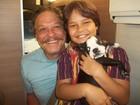 Cadela de ator alegra a última gravação de 'Salve Jorge'