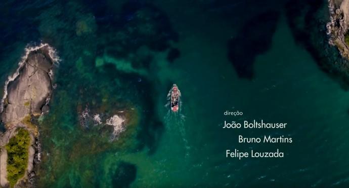 Abertura de 'Sol Nascente' tem paisagens paradisíacas (Foto: TV Globo)