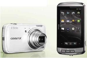 Nova câmera da Nikon roda o sistema operacional Android, do Google (Foto: Divulgação)