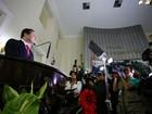 Renan Filho cita 'nova emancipação' de Alagoas em solenidade de posse