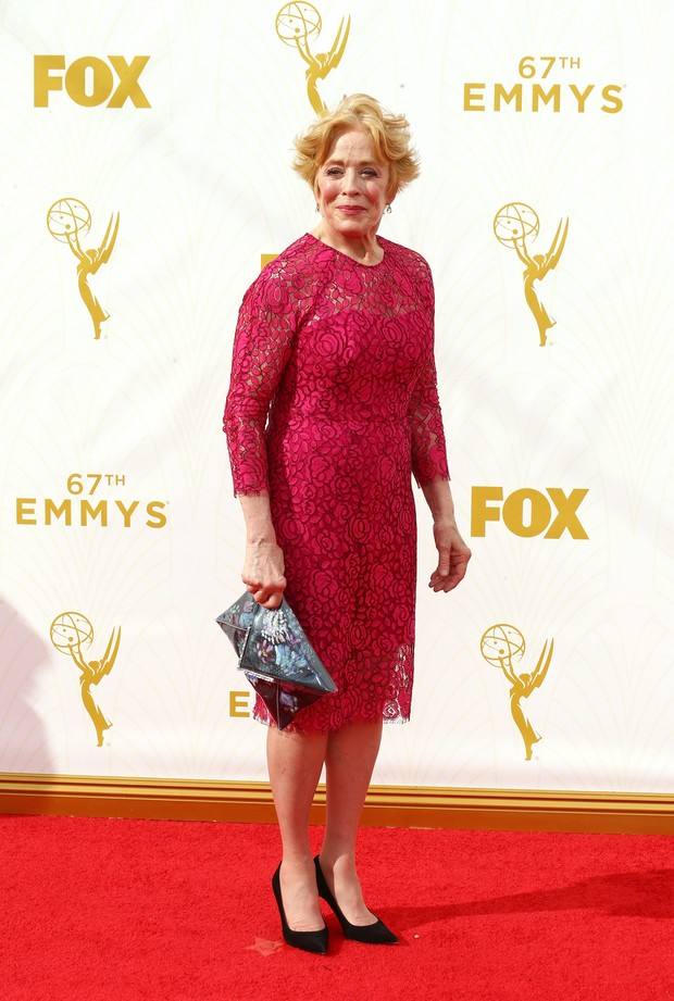 Holland Taylor no Emmy Awards (Foto: Getty Images)