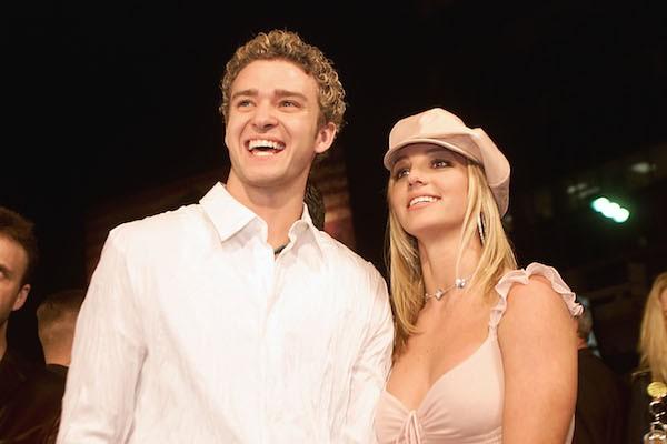A cantora Britney Spears e seu ex-namorado, Justin Timberlake (Foto: Getty Images)