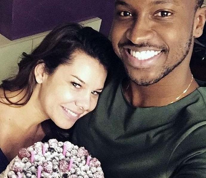 Thiaguinho e Fernanda Souza  (Foto: Arquivo pessoal)