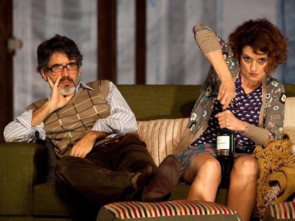 Denise Fraga trabalha com o marido no espetáculo (Foto: Divulgação)