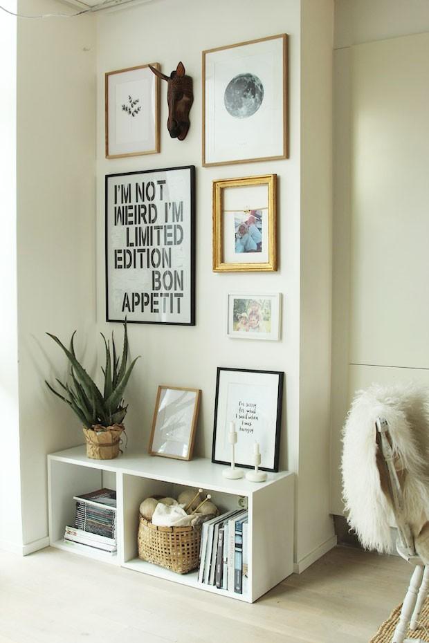A presença do verde também é importante para quem decorar no estilo escandinavo. A dica é inserir vasos despretensiosos pelo lar  (Foto: Divulgação)