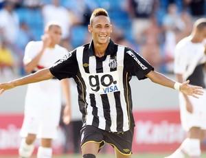 Neymar jogo Santos (2010)