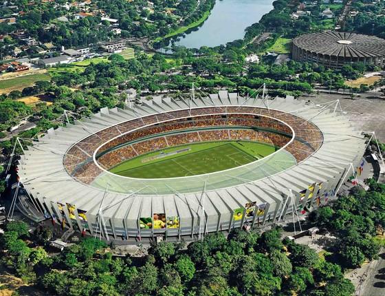 O estádio do Mineirão, em Belo Horizonte, recebe o show de Paul dia 17 de outubro (Foto: Divulgação)