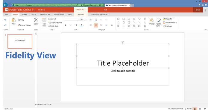 PowerPoint tem novo sistema de edição (Foto: Divulgação/Microsoft)