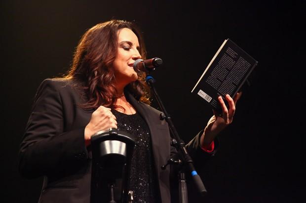 Ana Carolina se apresenta em SP (Foto: Marcos Ribas/Brazil News)