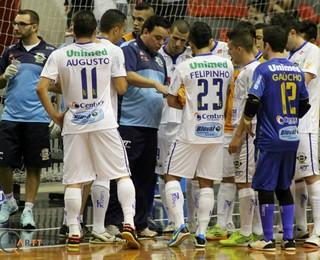 Técnico Ivan Gomes São José Futsal (Foto: Quarttus Marketing)