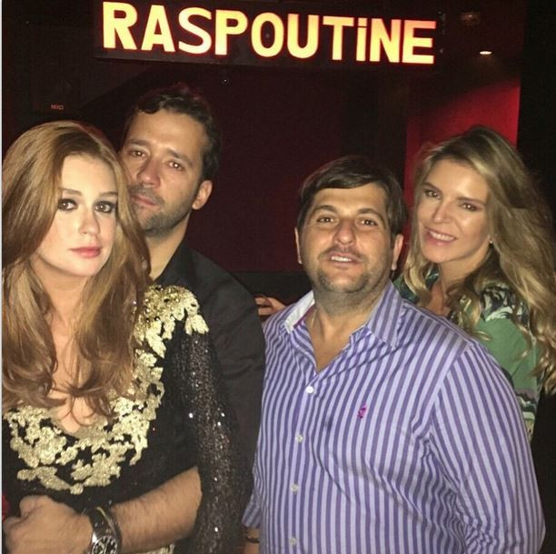 Marina Ruy Barbosa com o namorado Caio Nabuco e amigos (Foto: Instagram)