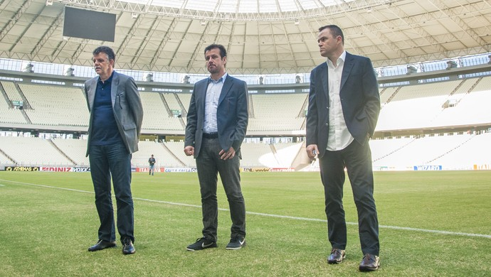 Dunga Gilmar Rinaldi Arena Castelão (Foto: Ariel Gomes/Divulgação)