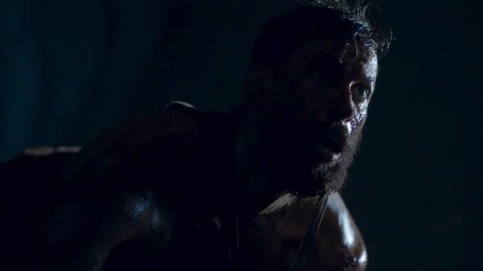 Luizão apareceu em situação deplorável em 'Supermax' (Foto: TV Globo)