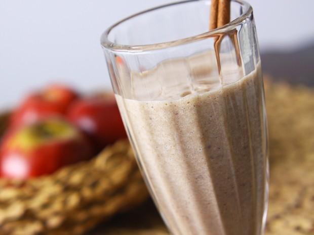 Vitamina de Ades de Banana com Maçã  (Foto: Divulgação/Ades)