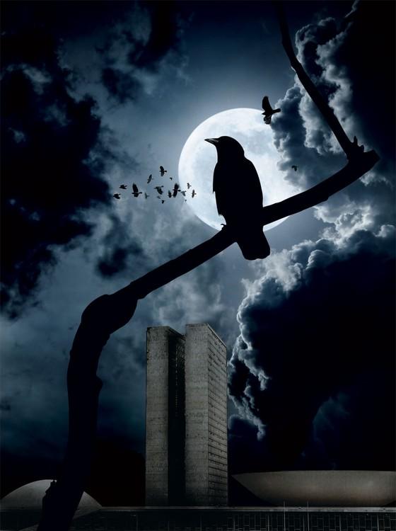 Noites de Terror no Poder (Foto: Ilustração Alexandre Lucas)