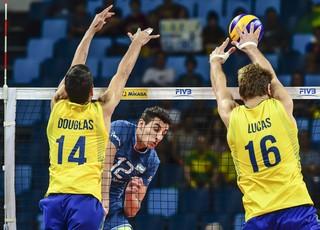 Brasil x Argentina - Liga Mundial de Vôlei 2016 - Rio de Janeiro (Foto: FIVB)