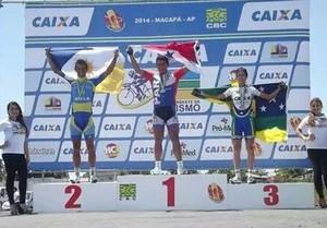 Vander Praxedes conquista prata no ciclismo (Foto: Divulgação)