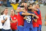 Comemoração do Cruzeiro contra o ABC