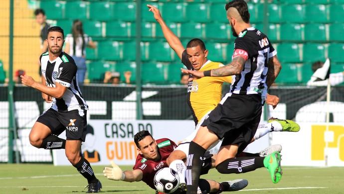 Jheimy e Gatito Figueirense x Criciúma (Foto: Luiz Henrique/Figueriense FC)