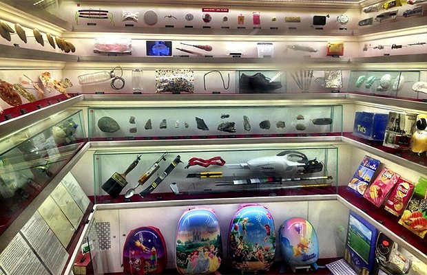 Objetos curiosos são expostos no Museum (Foto: Divulgação)